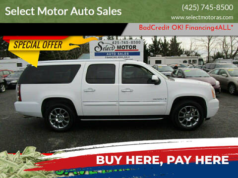 2007 GMC Yukon XL for sale at Select Motor Auto Sales in Lynnwood WA