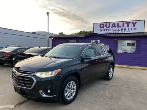 2019 Chevrolet Traverse for sale at Quality Auto Sales LLC in Garland TX
