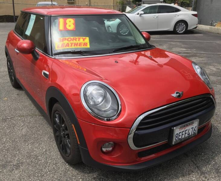 2018 MINI Hardtop 2 Door for sale at Eden Motor Group in Los Angeles CA