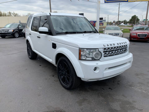 2012 Land Rover LR4 for sale at Summit Palace Auto in Waterford MI