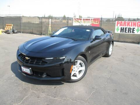 2019 Chevrolet Camaro for sale at Quick Auto Sales in Modesto CA