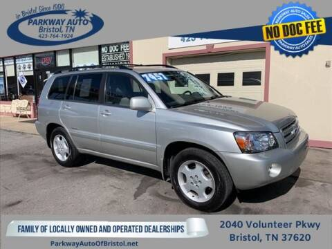 2007 Toyota Highlander for sale at PARKWAY AUTO SALES OF BRISTOL in Bristol TN