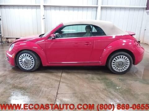 2014 Volkswagen Beetle Convertible for sale at East Coast Auto Source Inc. in Bedford VA