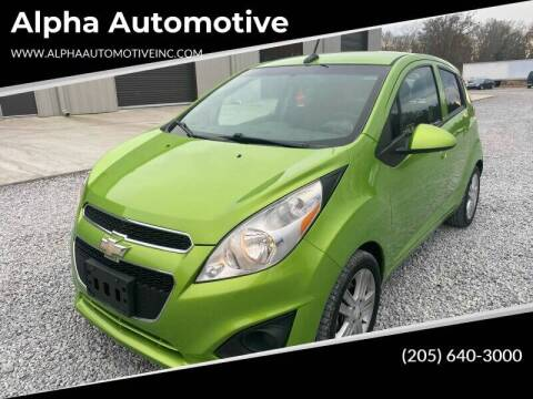 2014 Chevrolet Spark for sale at Alpha Automotive in Odenville AL