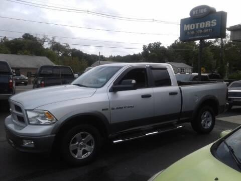 2012 RAM Ram Pickup 1500 for sale at Route 106 Motors in East Bridgewater MA