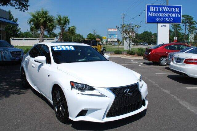 2015 Lexus IS 250 for sale at BlueWater MotorSports in Wilmington NC