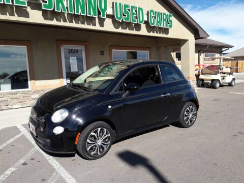 2015 FIAT 500 for sale at More-Skinny Used Cars in Pueblo CO