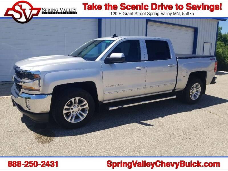 2018 Chevrolet Silverado 1500 for sale at Spring Valley Chevrolet Buick in Spring Valley MN