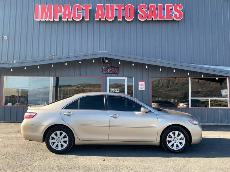 2008 Toyota Camry Hybrid for sale at Impact Auto Sales in Wenatchee WA