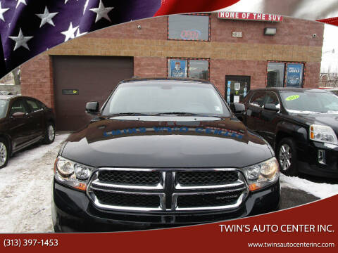 2012 Dodge Durango for sale at Twin's Auto Center Inc. in Detroit MI