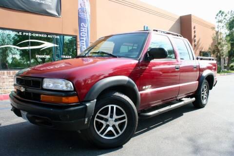 2003 Chevrolet S-10 for sale at CK Motors in Murrieta CA
