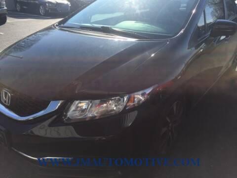 2015 Honda Civic for sale at J & M Automotive in Naugatuck CT