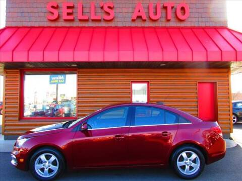 2015 Chevrolet Cruze for sale at Sells Auto INC in Saint Cloud MN