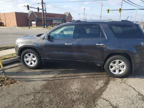 2016 GMC Acadia for sale at Towne Auto Sales in Medina OH