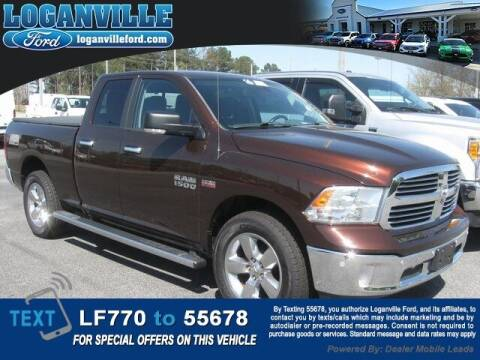 2014 RAM Ram Pickup 1500 for sale at Loganville Quick Lane and Tire Center in Loganville GA