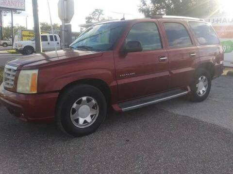2002 Cadillac Escalade for sale at Low Price Auto Sales LLC in Palm Harbor FL