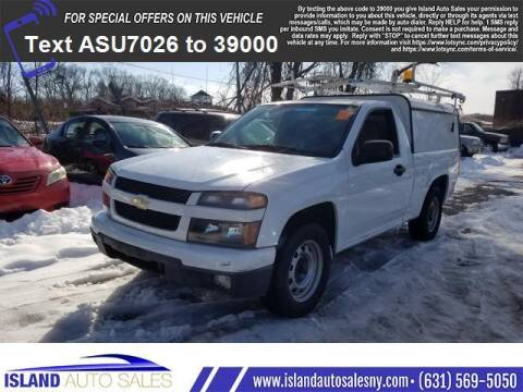 2010 Chevrolet Colorado for sale at Island Auto Sales in E.Patchogue NY