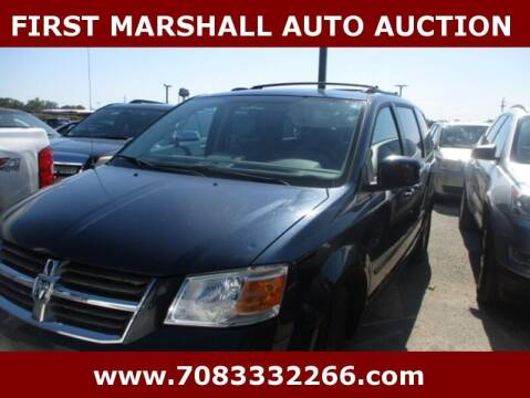 2009 Dodge Grand Caravan for sale at First Marshall Auto Auction in Harvey IL