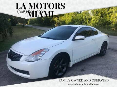 2008 Nissan Altima for sale at LA Motors Miami in Miami FL