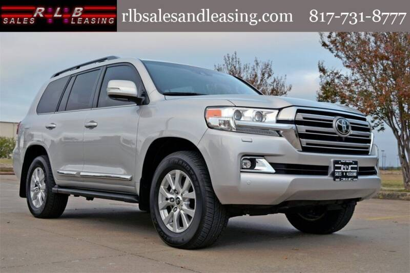 2020 Toyota Land Cruiser for sale at RLB Sales and Leasing in Fort Worth TX