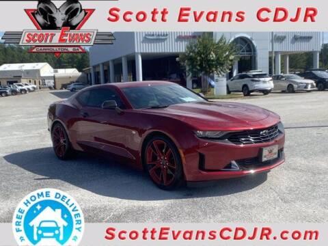 2021 Chevrolet Camaro for sale at SCOTT EVANS CHRYSLER DODGE in Carrollton GA