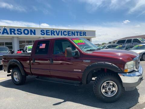 2004 Ford F-250 Super Duty for sale at Carson Servicenter in Carson City NV