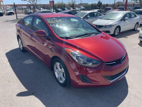 2013 Hyundai Elantra for sale at Legend Auto Sales in El Paso TX