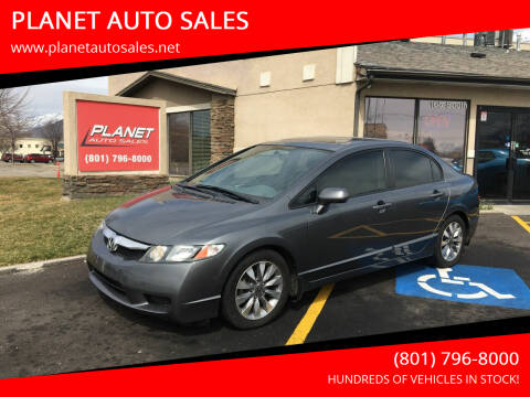 2009 Honda Civic for sale at PLANET AUTO SALES in Lindon UT