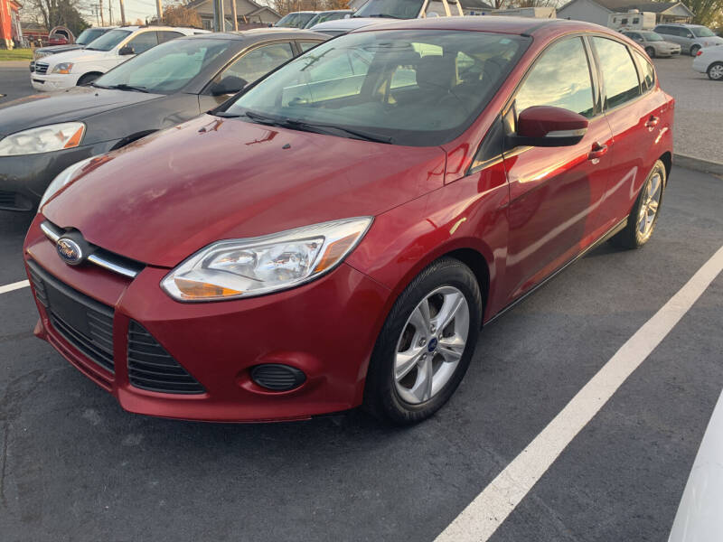 2014 Ford Focus for sale at HILLS AUTO LLC in Henryville IN