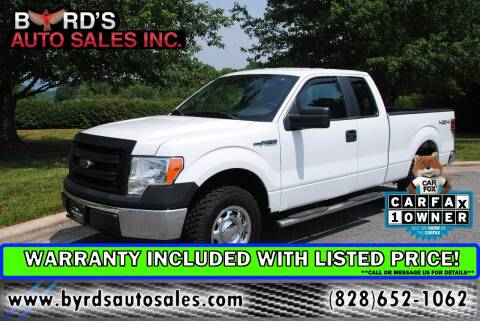 2014 Ford F-150 for sale at Byrds Auto Sales in Marion NC