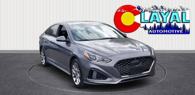 2018 Hyundai Sonata for sale at Layal Automotive in Englewood CO