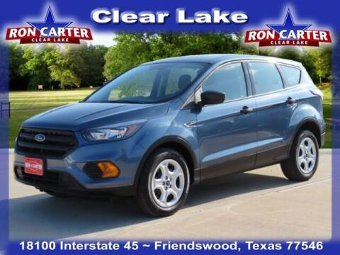 2018 Ford Escape for sale at Ron Carter  Clear Lake Used Cars in Houston TX