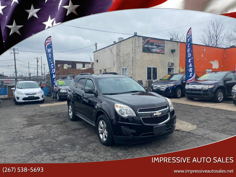 2012 Chevrolet Equinox for sale at Impressive Auto Sales in Philadelphia PA