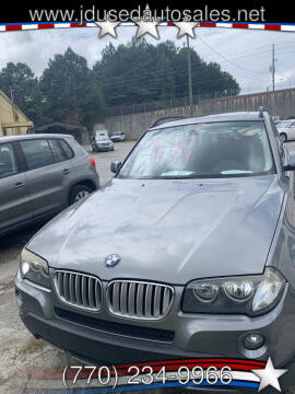 2009 BMW X3 for sale at J D USED AUTO SALES INC in Doraville GA