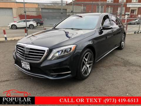 2015 Mercedes-Benz S-Class for sale at Popular Auto Mall Inc in Newark NJ