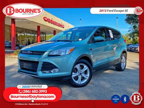 2013 Ford Escape for sale at Bourne's Auto Center in Daytona Beach FL