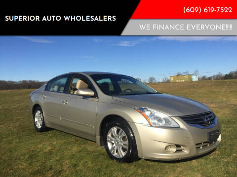 2010 Nissan Altima for sale at Superior Auto Wholesalers in Burlington City NJ