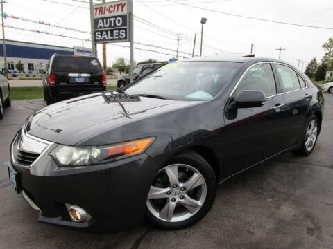 2012 Acura TSX for sale at TRI CITY AUTO SALES LLC in Menasha WI