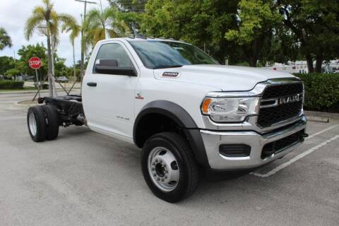 2019 RAM Ram Chassis 5500 for sale at Truck and Van Outlet - Miami Inventory in Miami FL