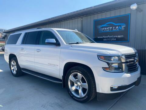2016 Chevrolet Suburban for sale at FAST LANE AUTOS in Spearfish SD