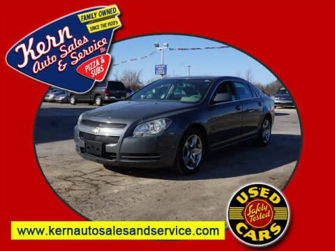 2009 Chevrolet Malibu for sale at Kern Auto Sales & Service LLC in Chelsea MI