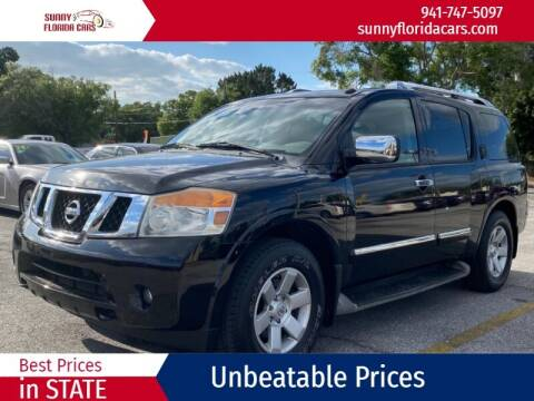2012 Nissan Armada for sale at Sunny Florida Cars in Bradenton FL