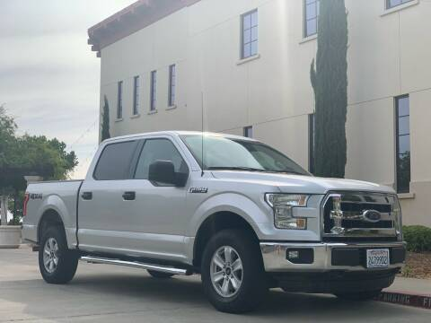 2015 Ford F-150 for sale at Auto King in Roseville CA