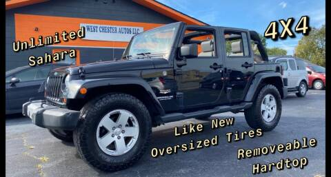 2008 Jeep Wrangler Unlimited for sale at West Chester Autos in Hamilton OH