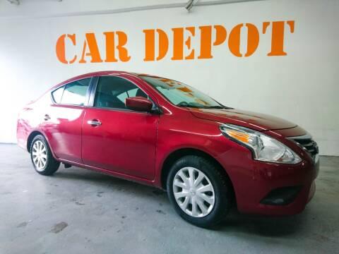 2019 Nissan Versa for sale at Car Depot in Miramar FL