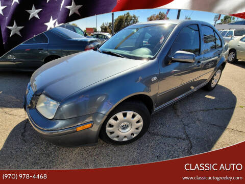 2003 Volkswagen Jetta for sale at Classic Auto in Greeley CO