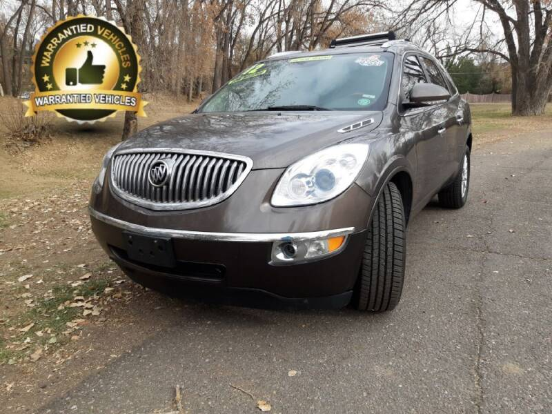 2012 Buick Enclave for sale at Central Denver Auto Sales in Englewood CO