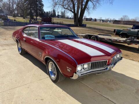 1969 Oldsmobile Cutlass W-31 for sale at B & B Auto Sales in Brookings SD