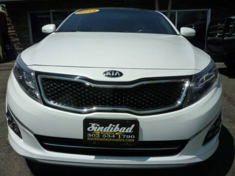 2014 Kia Optima for sale at Sindibad Auto Sale, LLC in Englewood CO