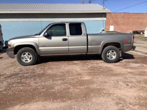 2000 Chevrolet Silverado 1500 for sale at Paris Fisher Auto Sales Inc. in Chadron NE